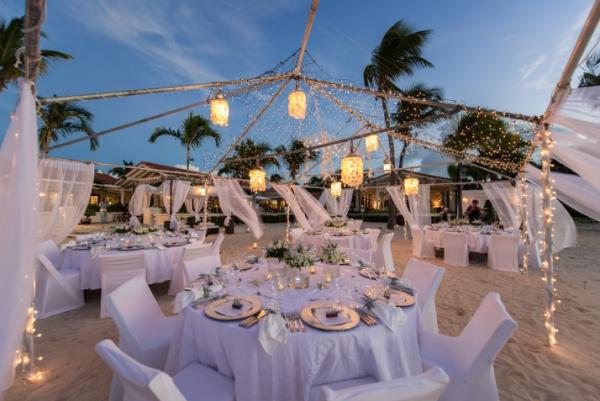 Heavenly Unions White Beach Wedding Decor That Will Take