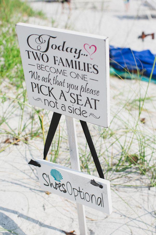 Lovely Beach Wedding Signs Beach Wedding Tips