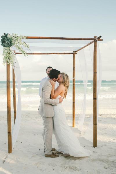 Beach Wedding Arch Ideas Beach Wedding Tips