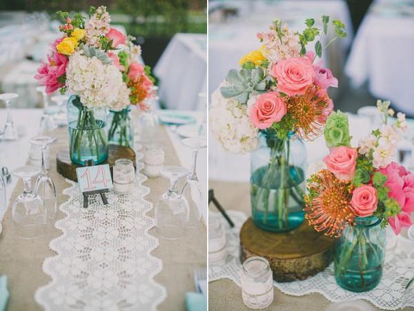wedding table runners