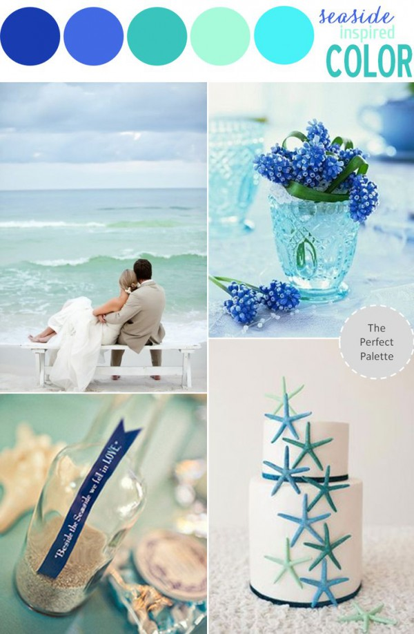Beach Wedding Color Theme Let The Sea Inspire Your Choice Beach
