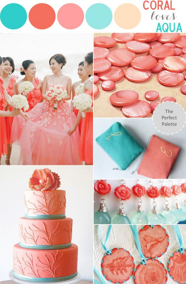 Beach Wedding Color Theme