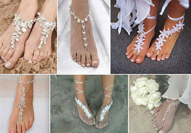 Beach Bridal Shoe Options
