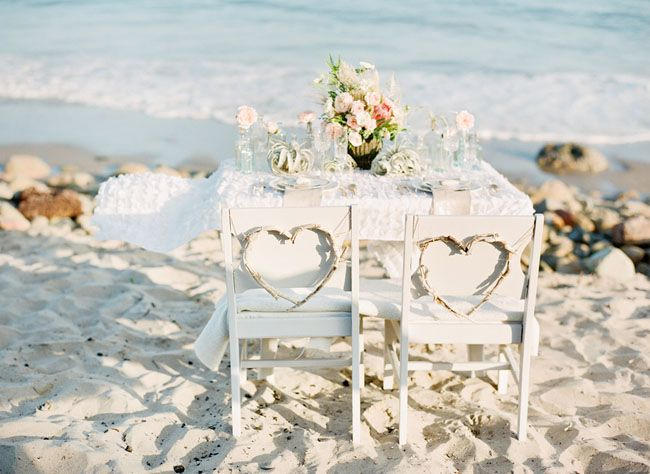 Beach Wedding Chair Decorations Beach Wedding Tips
