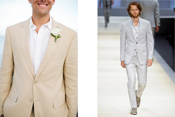 How to Choose a Groom Suit for a Beach Wedding – Beach ...