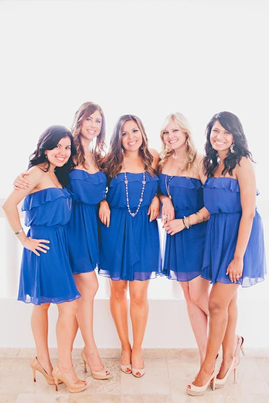 How to Dress the Bridesmaids