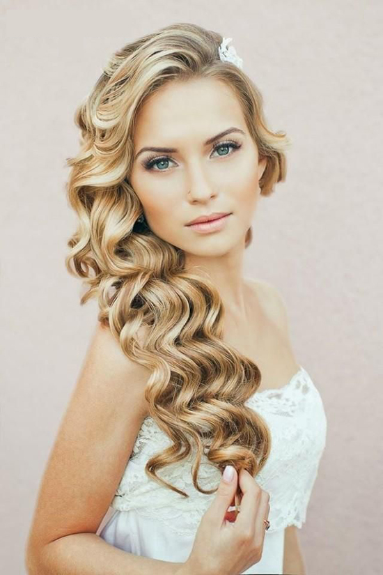 Wedding Hairstyles Romantic Waves