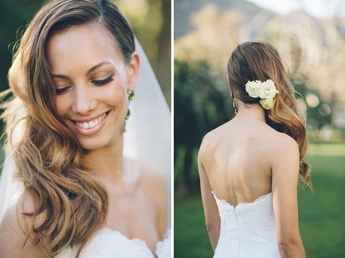 Wedding Hairstyles: Romantic Waves