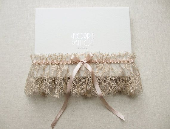 Bridal Lingerie Gorgeous Garters for Your Beach Wedding
