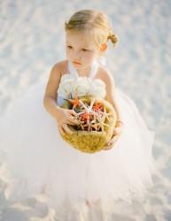 Adorable Beach Flower Girl Dresses