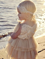 Adorable Beach Flower Girl Dresses