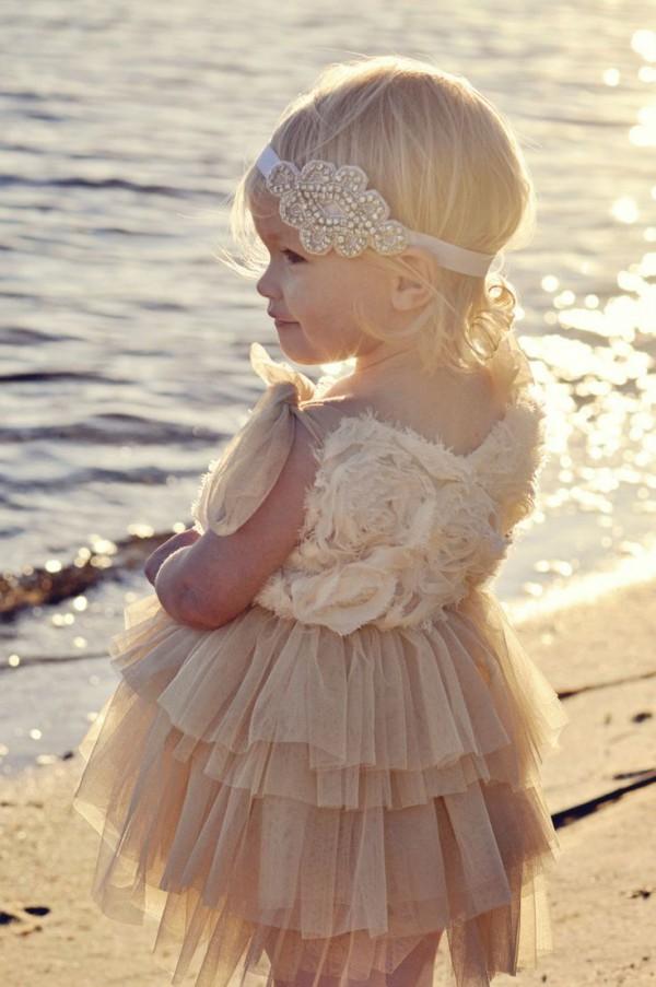 17afb3e3fb Adorable Beach Flower Girl Dresses – Beach Wedding Tips