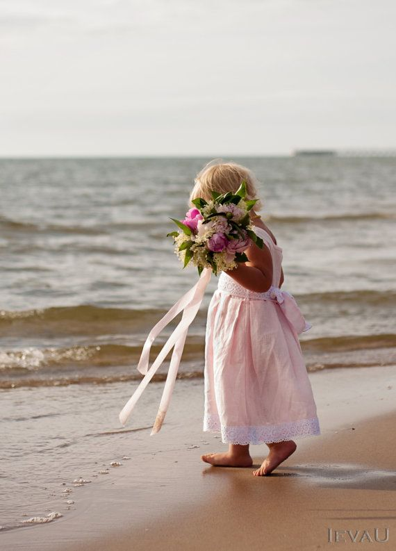 beach wedding flower girl dress adorable flower dresses wedding tips 1585