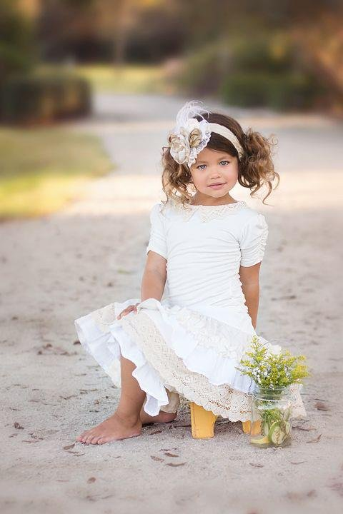 Adorable Beach Flower Girl Dresses – Beach Wedding Tips