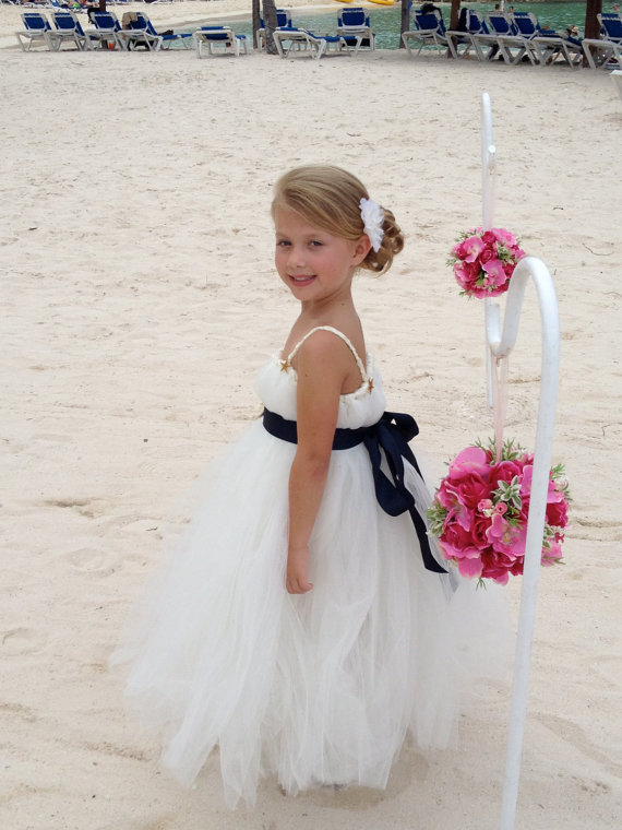 31b39603e Adorable Beach Flower Girl Dresses – Beach Wedding Tips