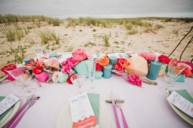 Amazing surf wedding inspiration shoot