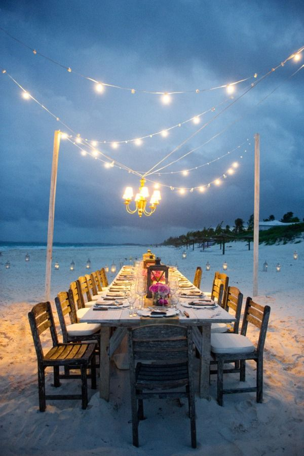 Rustic Beach Wedding Ideas