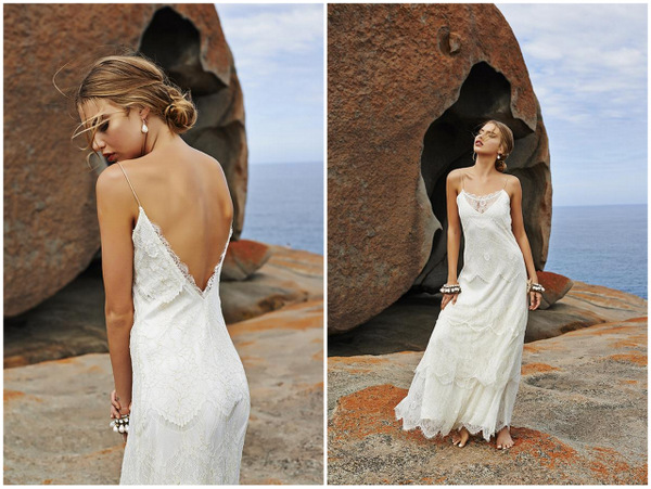 Backless Beach Wedding Dresses For The Sultry Siren In You