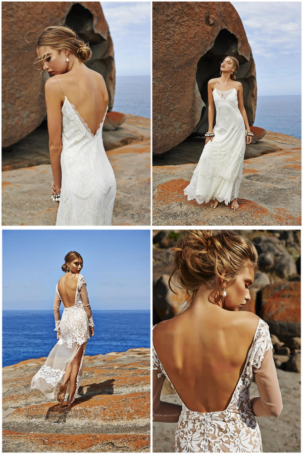 Backless Beach Wedding Dresses for the Sultry Siren in You – Beach ...