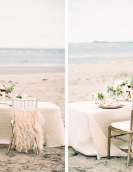 Stunning Wedding Shoot Inspired by the Soft Colors of a Summer Sunset