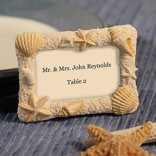 Adorable Beach Wedding Place Card Holders – Beach Wedding Tips