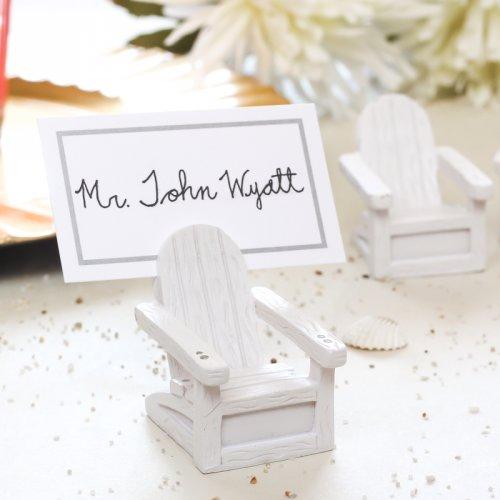 Adorable Beach Wedding Place Card Holders