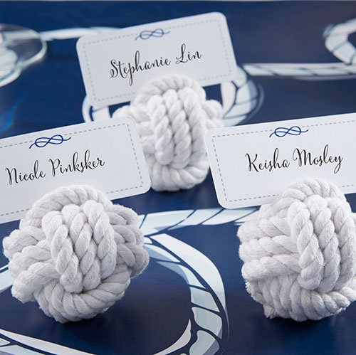 Adorable Beach Wedding Place Card Holders