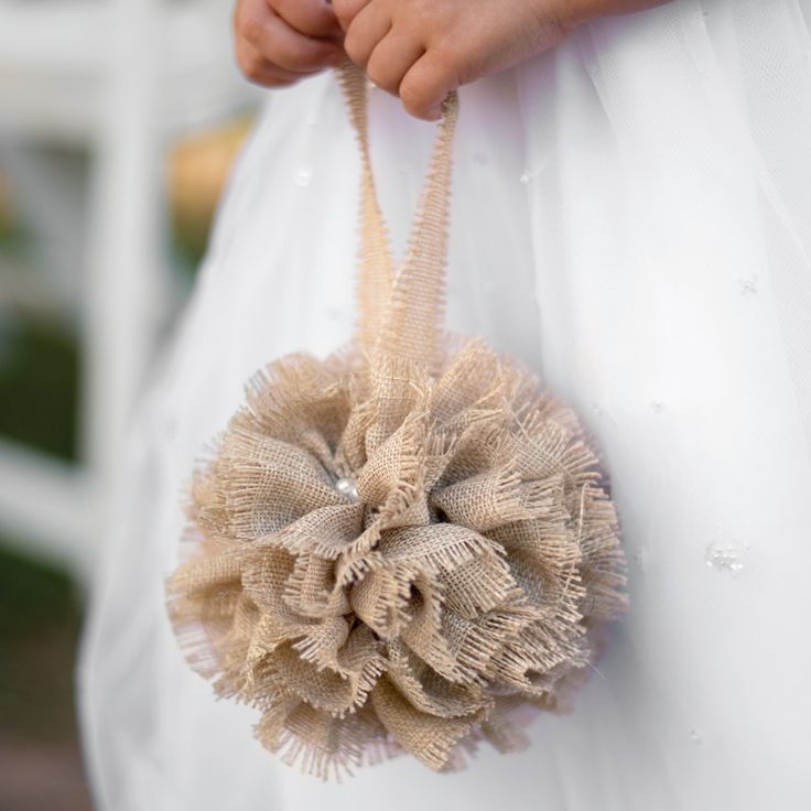 Burlap Beach Wedding Ideas