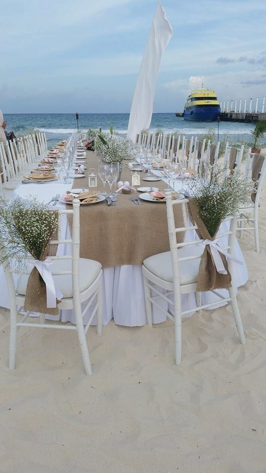 Burlap Beach Wedding Ideas Beach Wedding Tips