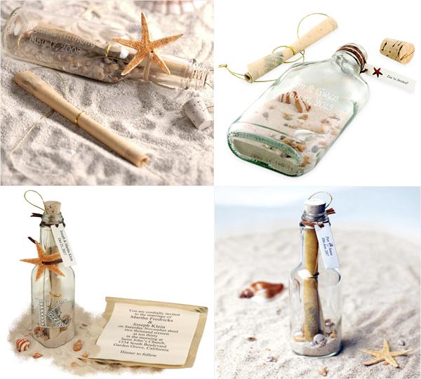 beach wedding invitation in a bottle  u2013 beach wedding tips