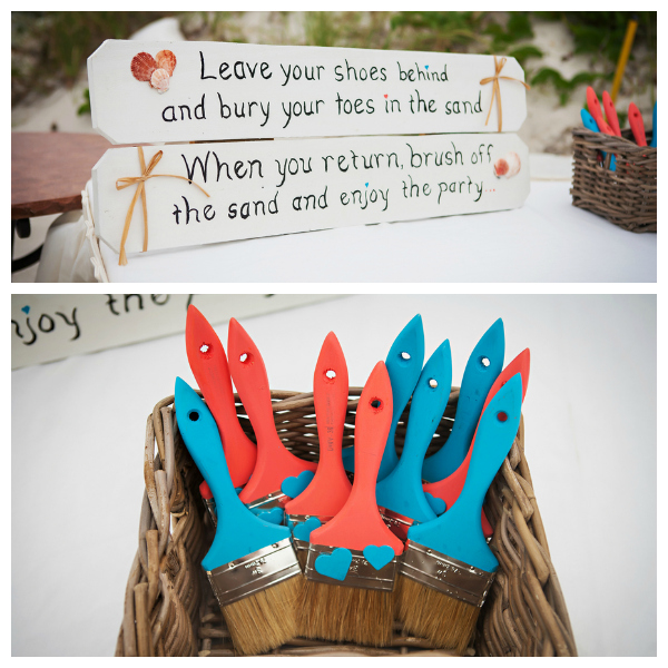 Liz and Matt: Coral and Turquoise Destination Wedding – Beach ...