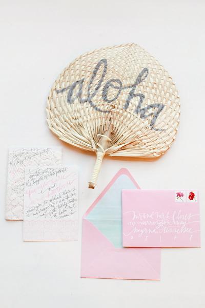 Fresh Mint and Pink Beach Wedding Ideas