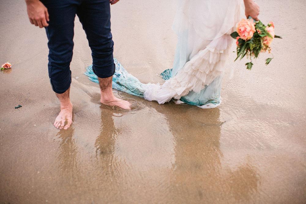 Hipster Mermaid Beach Wedding Inspiration