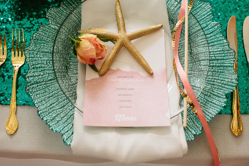 Hipster Mermaid Beach Wedding Inspiration