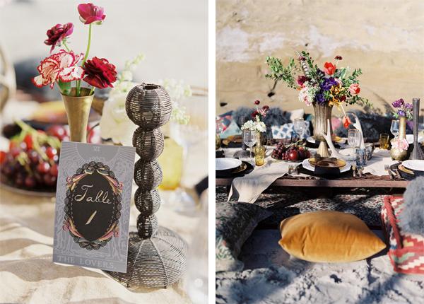 Gorgeous Bohemian Beach Wedding Shoot