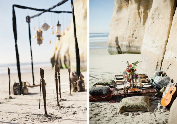 real life weddings wedding bohemian beach theme