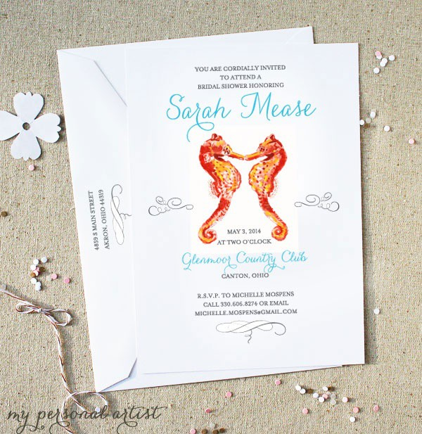 How to Organize a BeachThemed Bridal Shower Beach Wedding Tips