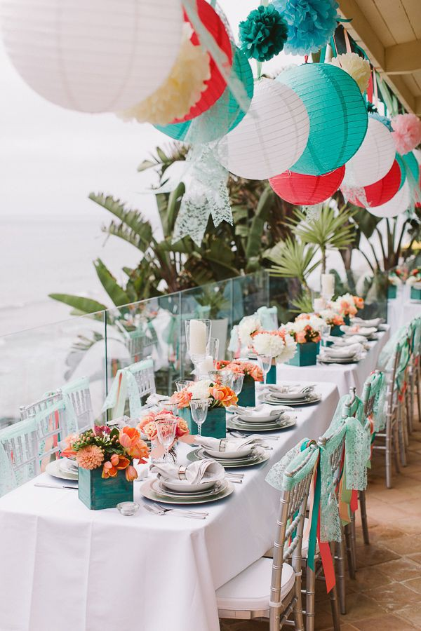How To Organize A Beach Themed Bridal Shower Beach