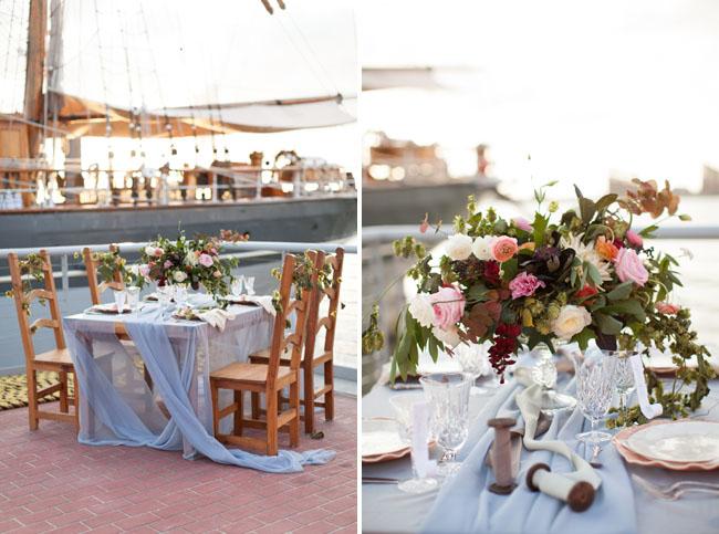 Wedding Inspiration Shoot on a Historic Ship