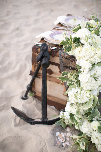 Dreamy beach wedding elopement