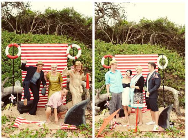 Photo Booths Ideas for a Fun Beach Wedding