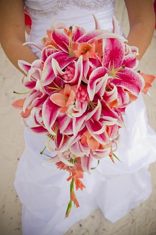 Beach Bridal Bouquet Ideas
