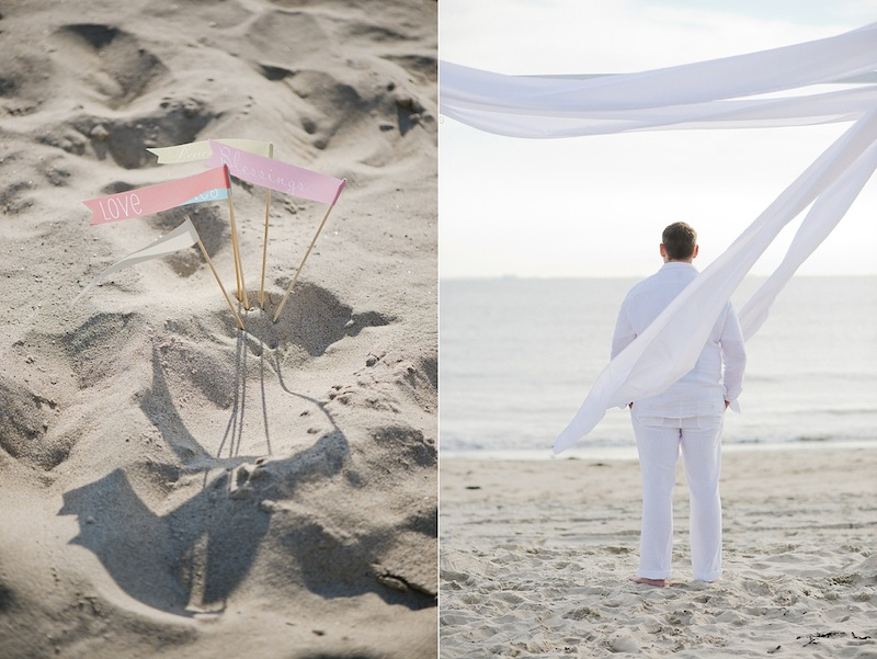 Intimate Beach Wedding Renewal