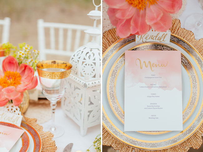 Beachy Bohemian Styled Shoot