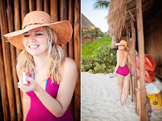 Flirty Beach Boudoir Session in Mexico
