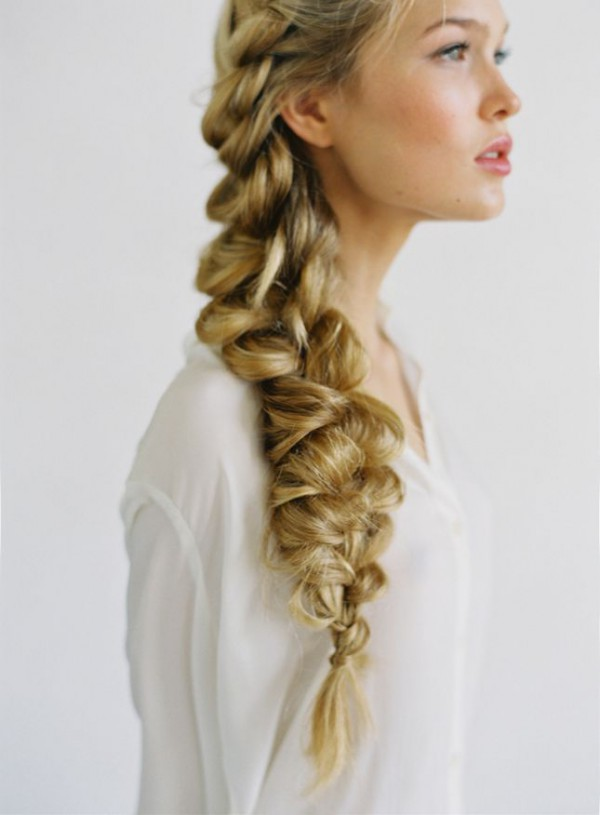 Outstanding Beach Bridal Braids The Hottest Trend In Wedding Hairstyles Hairstyles For Men Maxibearus