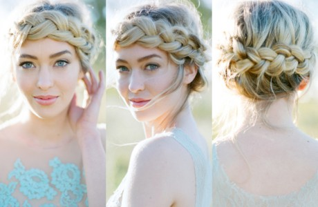 Beauty Beach Wedding Tips - Bridesmaid hairstyle beach
