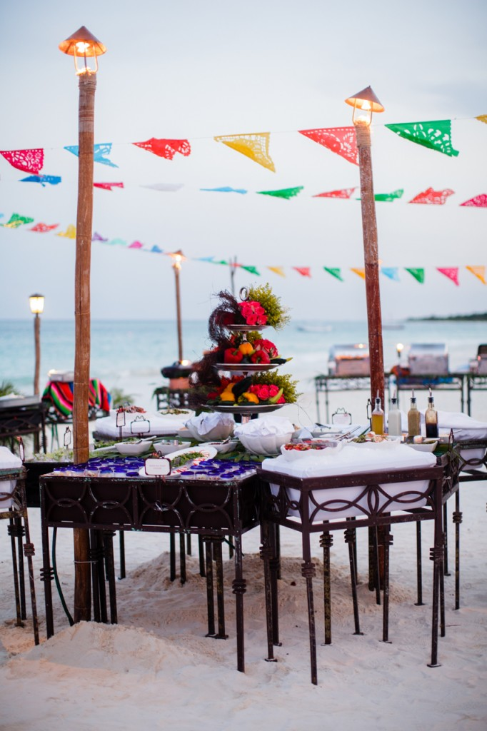 Mexican Beach Wedding in Riviera Maya