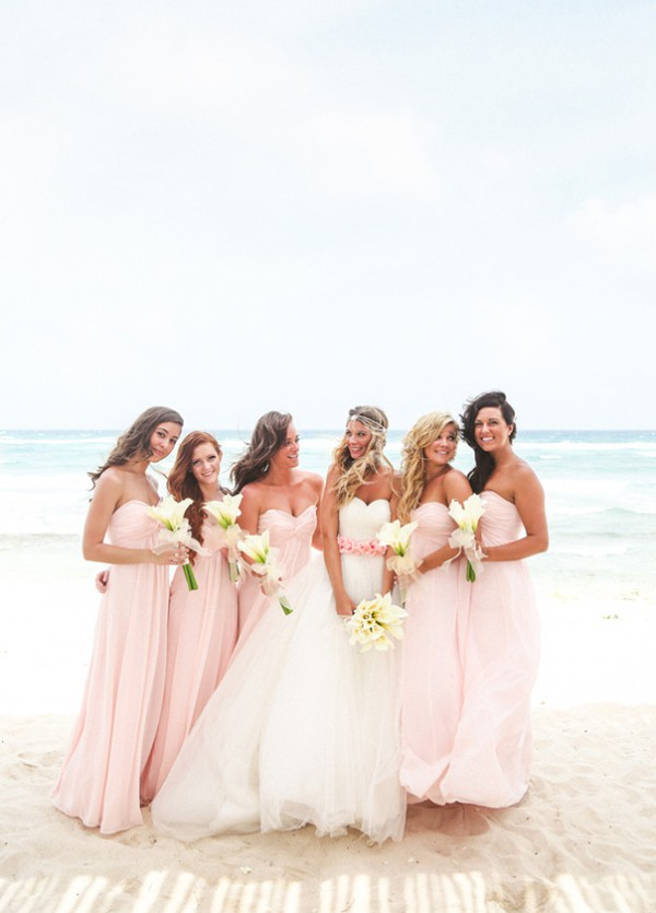 Pink Beach Wedding Dresses Best Wedding Dress 2017