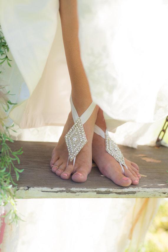 Great Beach Bridal Shoes Ideas 4